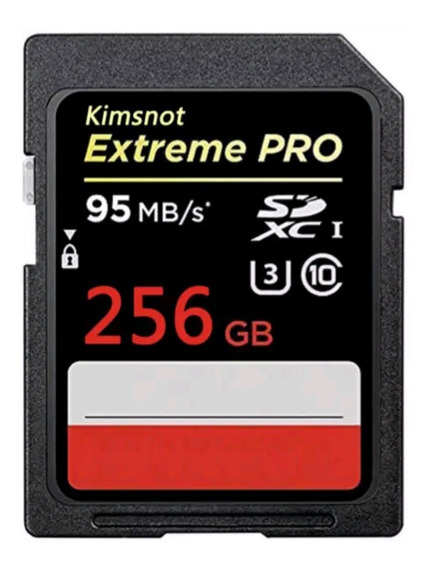 Original 256 Gb Extreme Pro 633x 95mb/s U3 Ultrahd V3 4k C10