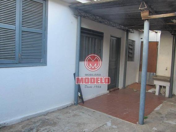 Casa Com 1 Dormitório Para Alugar, 100 M² Por R$ 550/mês - Nova América - Piracicaba/sp - Ca2708