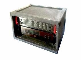 Amplificador Profissional Na2200 C/ Equalizador Ge1800x