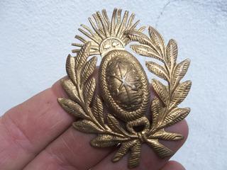 Insignia Policia 6,5 Cm De Bronce