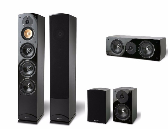 Kit Home Theater 5.0 Pure Acoustics Proxima