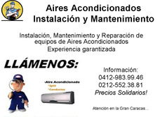 Instalacion Y Servicio Tecnico En Aire Acondicionado