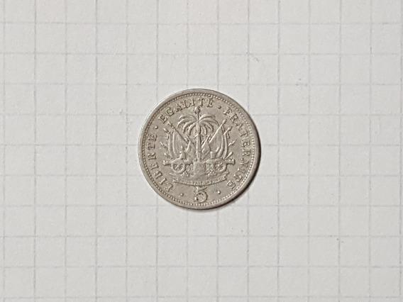 Haiti 5 Centavos 1905 Muy Linda Y Rara