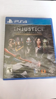 Injustice: Gods Among Us Ultimate Edition - Sellado - Ps4