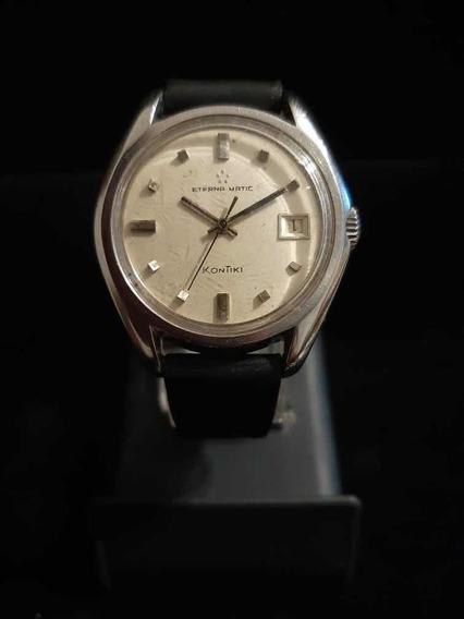 Reloj Eterna Matic Kontiki Sello De Oro