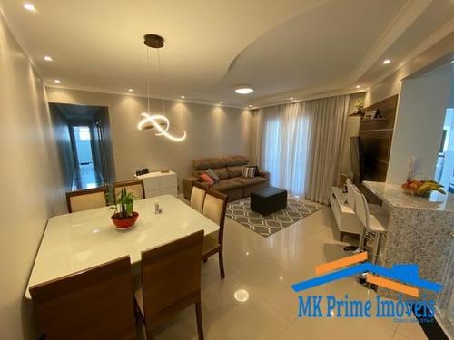 Apartamento Maravilhoso Com 104 M² No Km 18 - 1437