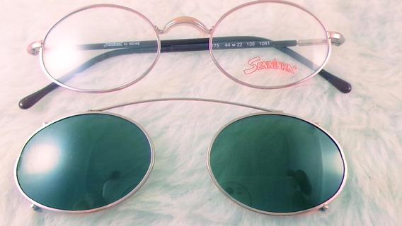 Óculos #solar E #grau Metal #retrô, Infanto, Senninha 175i