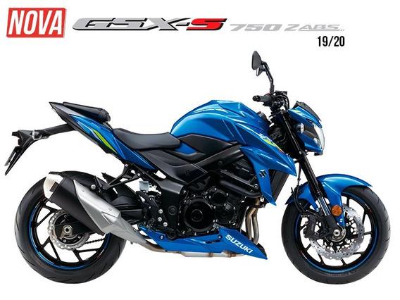 Suzuki Gsx S 750 Za Novas Cores