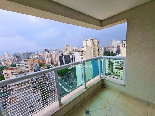 Apartamento À Venda, 40 M² Por R$ 500.589,00 -  Centro  - São Paulo/sp - Ap2218