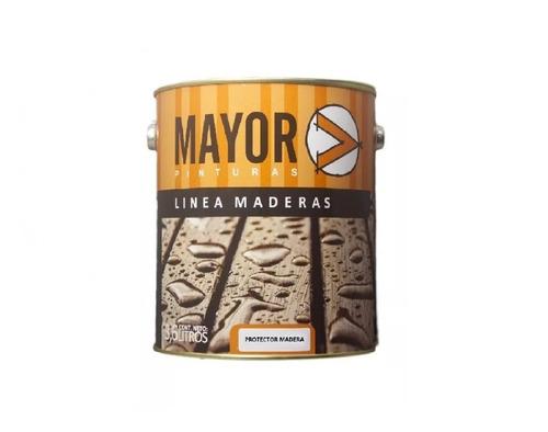 Imagen 1 de 4 de Protector De Maderas Mayor 3,6lts.interior-exte   7 Colores