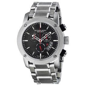 263d5c3a1d6a Reloj Burberry Bu7702 Heritage Black Chronograph Bracelet