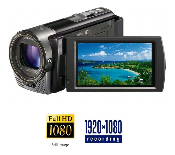 Filmadora Sony Cx130 Full Hd Optico 30x Hdmi Lcd 3.0 Touch