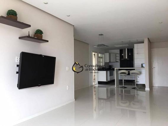 Apartamento Com 3 Dormitórios À Venda, 115 M² Por R$ 550.000 - Parque Imperial - Monte Mor/sp - Ap0262