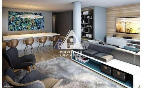 Apartamento À Venda, 2 Quartos, 1 Suíte, 2 Vagas, Botafogo - Rio De Janeiro/rj - 24389