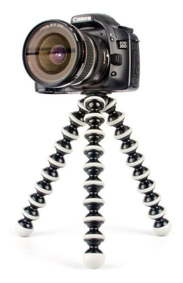 Tripé Flexivel Gorilla Gorila Para Câmera Fotográfica, Gopro Ou Celular Tamanho G
