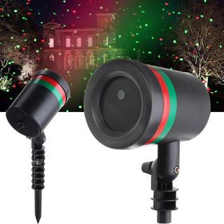 Estaca Proyector Luces Lluvia Laser Jardin Exterior Navidad
