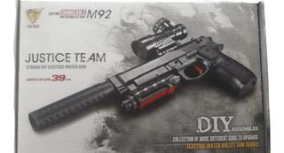 2 Pistolas De Hidrogel Automaticas Tipo Gotcha