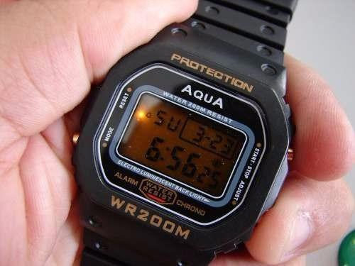Relógio Aqua Protection