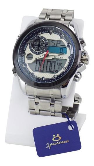 Relógio Masculino Original Aço A Prova D