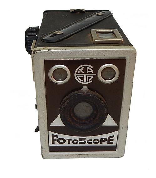 Antiga Máquina Fotográfica Fotoscope
