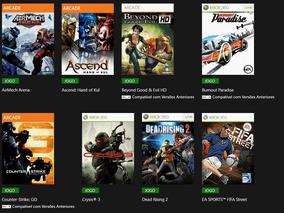 Fifa Street + 22 Jogos Xbox 360 Em Midia Digital Via Licença
