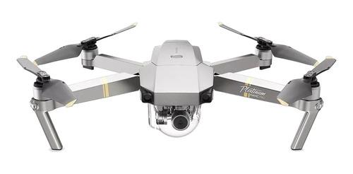 Drone DJI Mavic Pro Platinum Fly More Combo com câmera C4K platinum