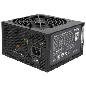 Fonte 500w Cooler M Masterwatt Lite 80plus Mpx-5001-acaaw-wo