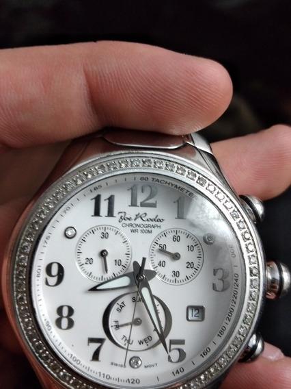 Relógio De Diamante Joe Rodeo Chronograph