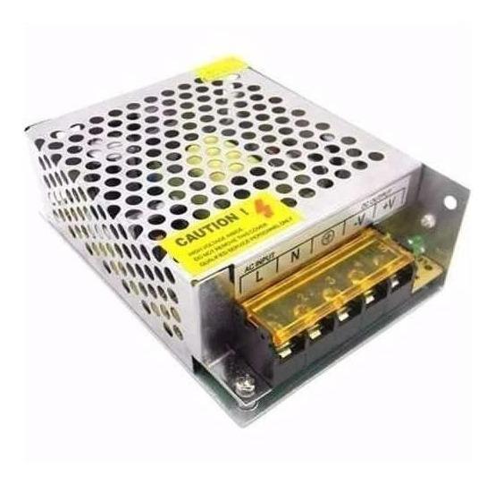 10 Fonte Chaveada 12v 5 Amperes Cftv Câmera De Segurança Etc