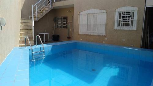 Casa Em Praia Grande 02 Dormitorios Com Piscina - Ser26