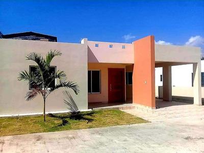 Casa Barata Nueva En Puerto Plata