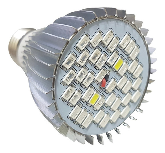 Lâmpada Led Grow 48w Cultivo Indoor / Estufa / Interno E27
