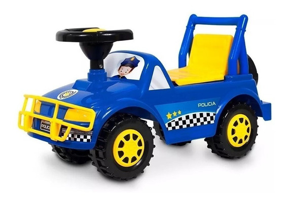 Andarin Unibike 440055 Policia 2 En 1 Creciendo