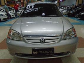 Civic 1.7 Lx 16v 2001 Preta