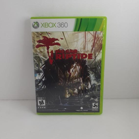 Jogo Dead Island Riptide Xbox 360 Semi Novo Testado