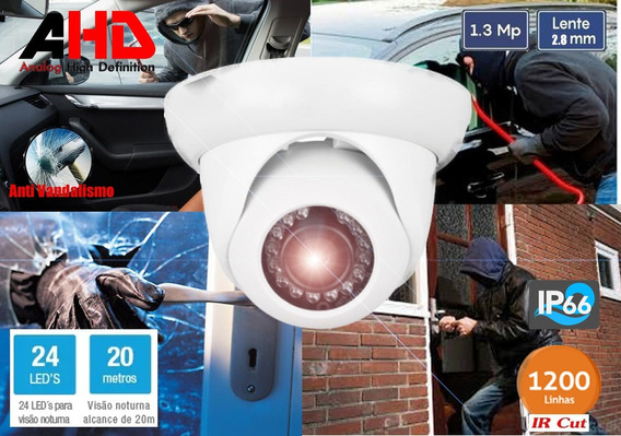 Camera Infra Dome 24leds Ahd 1.3 Mp 20m Ircut (externa)