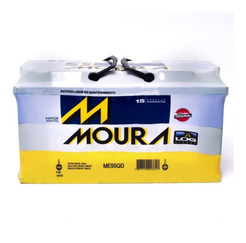 Bateria Moura M95qd 12x95  Blindada Sprinter Mercedes Audi