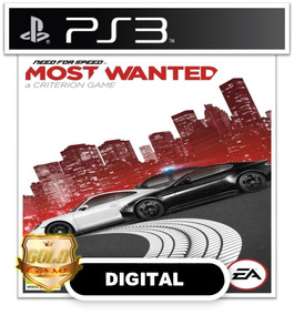 Need For Speed Most Wanted Ps3 Psn Envio Hoje Midia Digital