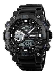 Reloj Hombre Deportivo Skmei 1228 Cronometro Alarma Luz