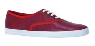Tenis Rojo Luxury Escarlata Caballero