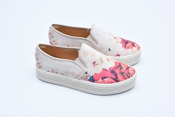 Slip On Off White Floral Ref:704421902