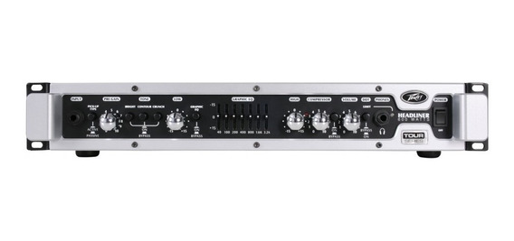 Amplificador Bajo Peavey Headliner 600w Bass Cabezal 101db