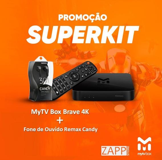 Mytv Brave Box Ultra Hd 4k Wifi Bivolt + Brinde