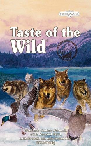 Imagen 1 de 3 de Taste Of De Wild Wetlands 28 Lbs Pato - kg a $44457