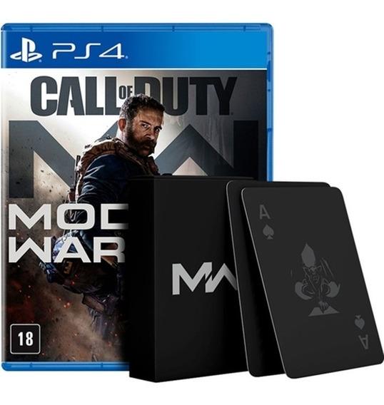Jogo Call Of Duty Modern Warfare - Ps4 - Novo - Mídia Física