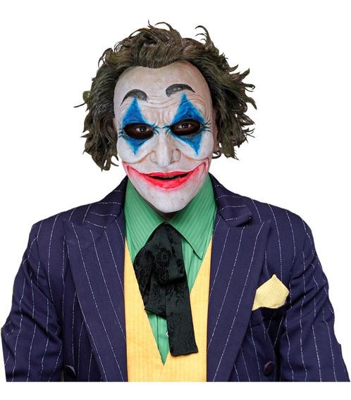 Mascara Latex Crazy Jack Clown Payaso Guason Halloween