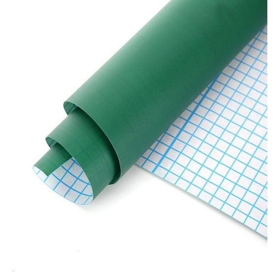 Adesivo Parede Lousa Quadro Verde 2,5 X 45cm + Giz Brinde