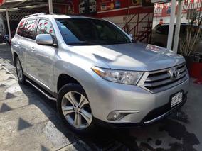 2013 Toyota Highlander Sport Premium Plata