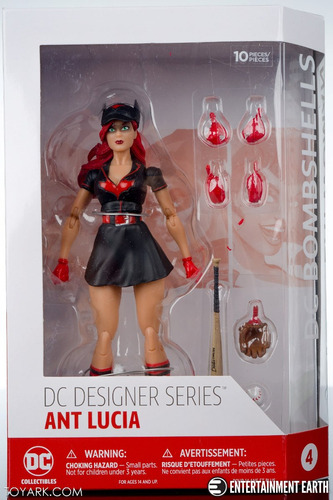 Batwoman Dc Bombshells Figure Ant Lucia Dc Collectibles