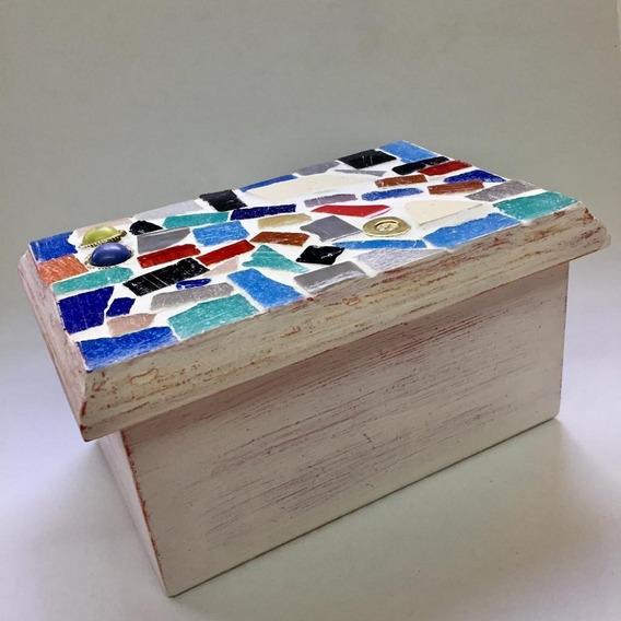 Cajas De Té Artesanales Con Venecitas - 2 Divisiones